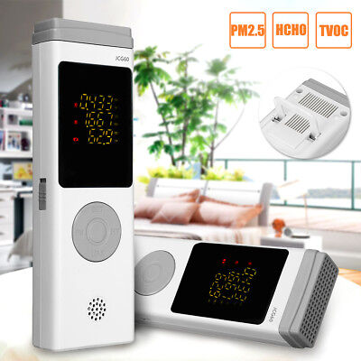 Professional PM2.5 Air Quality Pollution Monitor Formaldehyde Laser Detector