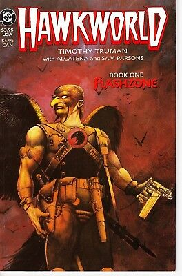 B536 Hawkworld Book One: Flashzone Hawkman   NM