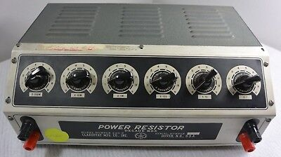 CLAROSTAT 240C POWER RESISTOR DECADE BOX - 1Ω to 999 kΩ (Repair, Parts,or AS IS)