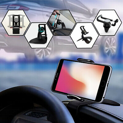 Universal 360° Car HUD Design Dashboard Mount Holder Stand For Cell Phone GPS