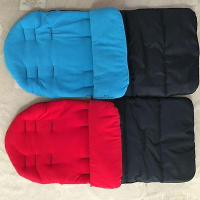 Baby Stroller Sleeping Bag Thickening Windproof Warm Foot Cover Cushion MSF
