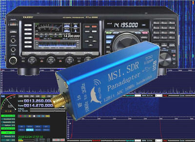 10KHZ TO 2GHZ Broadband Software Radio MSI SDR Receiver Compatible