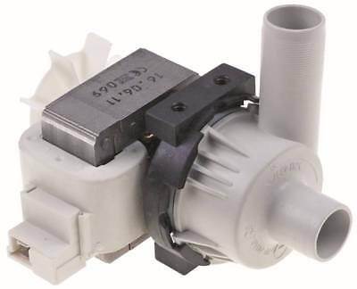 Hanning BE22B3-197 Drain Pump for Dishwasher Hobart Amx, Auxxt Exit 24mm