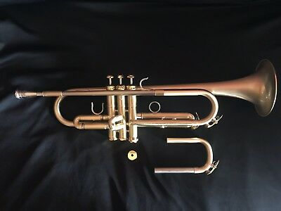 Andalucia AdVance Phase II Large Bore Lead Trumpet in Brushed Lacquer