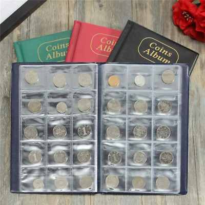 150 Coin Holder Collection Storage Collecting Money Penny Pockets Album Book