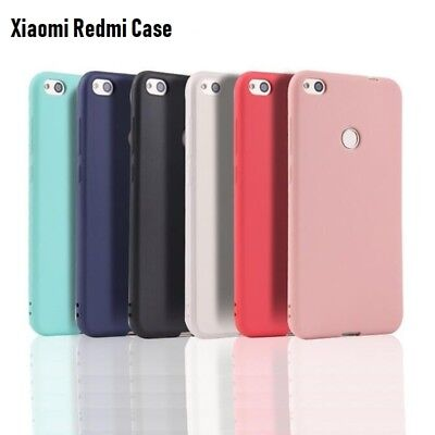 For Xiaomi Redmi Note 7 6 Pro 7A 6A Mi 9T A1 A2 Slim Silicone Soft TPU Back Case