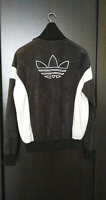 Vintage Adidas Track Top Jacket Big Logo 80s 90s