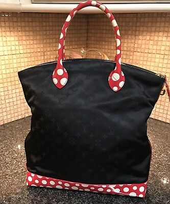 Louis Vuitton Yayoi Kusama Lockit MM Dots Infinity Monogram Tote