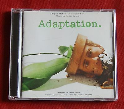 Adaptation - Original Motion Picture Soundtrack - music by Carter Burwell OST CD