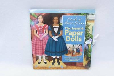 NEW American Girl Cecile & Marie Grace Play Scenes & Paper Dolls