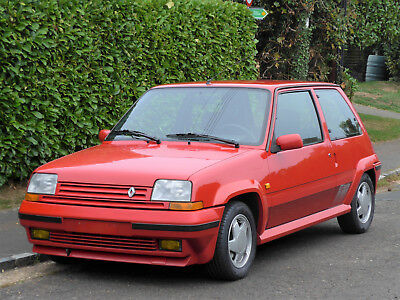 1989 RENAULT 5 GT TURBO - 27,000 Miles - An Exceptional, Completely Original Car