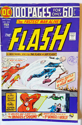 DC Comics The Flash vol.1 #232 1975 100 page giant 60 cents