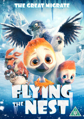 Flying the Nest DVD (2018) Arni Asgeirsson ***NEW***