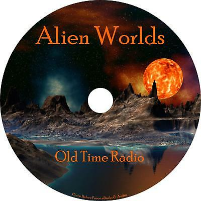 Alien Worlds Old Time Radio Show OTR 30 Episodes on 1 MP3 CD Free Shipping