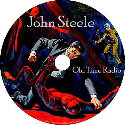 John Steele Old Time Radio Shows OTR 50 Episodes on 1 MP3 CD Free Shipping