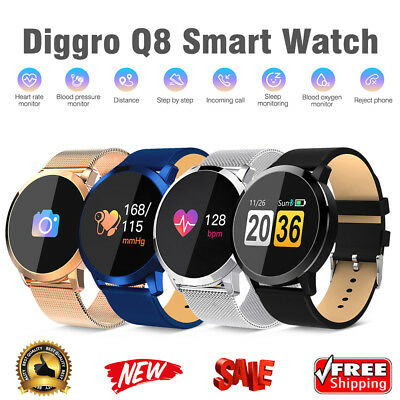 Waterproof Smart Watch Wristband Bracelet Heart Rate Monitor For iOS Android New