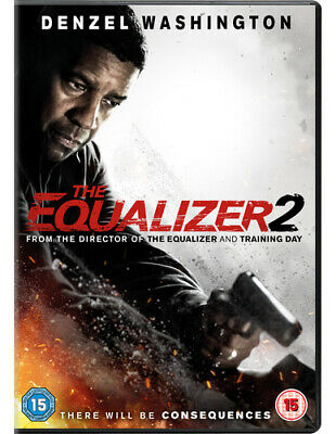 The Equalizer 2 DVD (2018) Denzel Washington ***NEW***