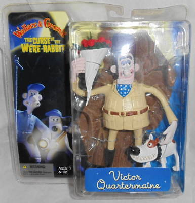Wallace & Gromit Curse of the Were-Rabbit: Victor Quartermaine NEW (SKU# 279)