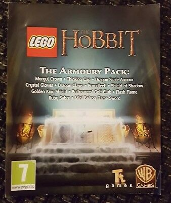 THE HOBBIT - PS4 DLC - The Armory Pack (Game Pack) NOT FULL GAME