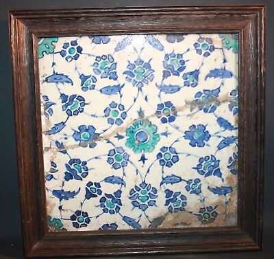17th/18th century Ottoman Turkish Ceramic Tile