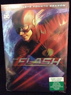 The Flash: The Complete Fourth Season (DVD, 2018)