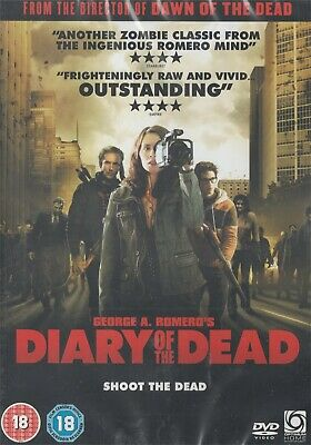 Diary Of The Dead - George A Romero - NEW Region 2 DVD