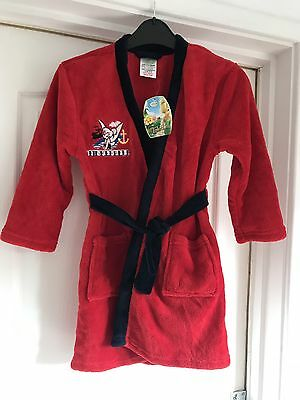 BNWT Disney Tinker bell Dressing Gown 4 5 Years UnisexGift Unique style Xmas