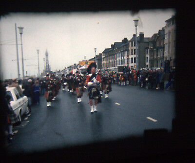 200ft Super 8mm Amateur Home Movie Blackpool Centenary 1976 carnival air display