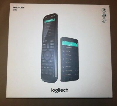 **BRAND NEW SEALED** Logitech Harmony Elite Remote with Hub (works with Alexa)