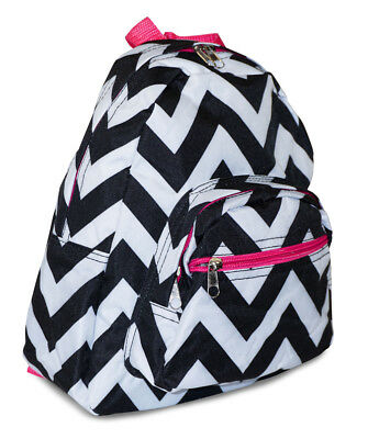 Girls Kids Pink Chevron Toddler Backpack Mini Small Preschool Striped Stripes