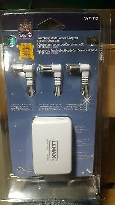 NEW Carole Towne Lemax Village Switching Mode Power Adapter #0271113 FREE S&H