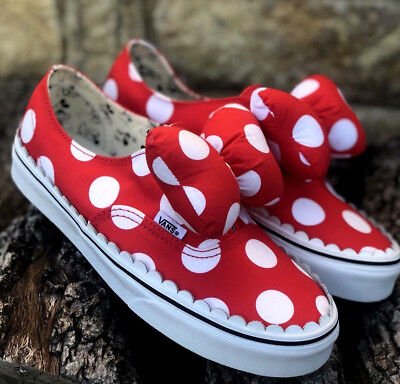 NEW DISNEY X Vans Authentic Gore Minnies Bow Womens 9 ~ SOLD OUT ... 45d2b7004