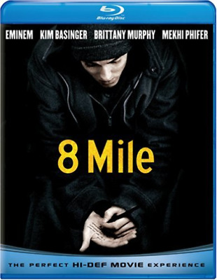 EMINEM-8 MILE Blu-Ray NEW