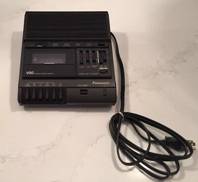 Panasonic RR-830 VSC Variable Speech Control Standard Cassette Transcriber