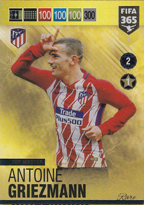 Panini Adrenalyn Xl Fifa 365 2019    #5 Top Master Antoine Griezmann
