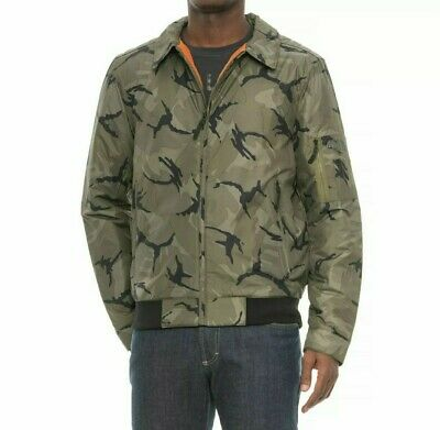 c3a3c26048 THE NORTH FACE Men s Barstol Aviator Bomber Jacket Camouflage Green XL NWT   139