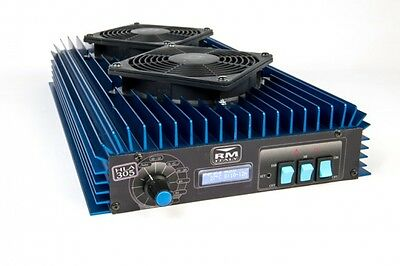 RM Italy HLA 305v HF Professional Linear amplifier With Fans (FCC Approved)