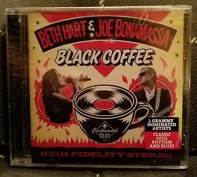 Black Coffee by Joe Bonamassa/Beth Hart CD, Jan-2018, J&R Adventures NEW