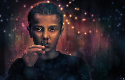 Stranger Things Epic Scene Nose Bleed Eleven Millie Bobby Brown Publicity Photo