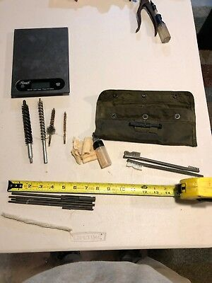 Vietnam Era, US Army Issue M16A1 Rifle Maintence Cleaning Kit