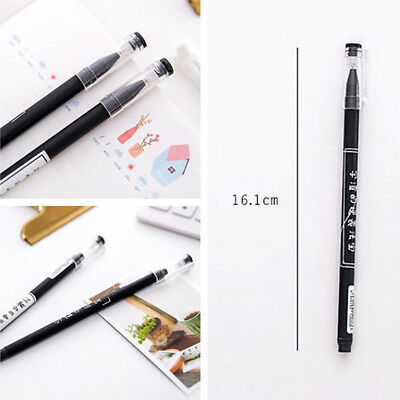 3 Pcs Cute Funny Gel Pens Novelty Writing Signing Pen Students Supply Creative