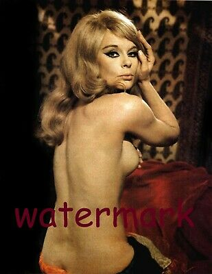German Entertainer Actress Model Elke Sommer In Epic Scene Publicity Photo