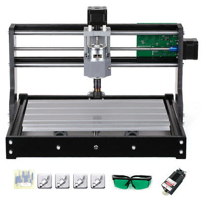 2500mW CNC3018 DIY USB CNC Router Kit Engraving Machine XYZ Working Area