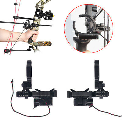 Black Archery Rest Drop Away Arrow Rest Left/Right Hand Compound Bow Hunting New