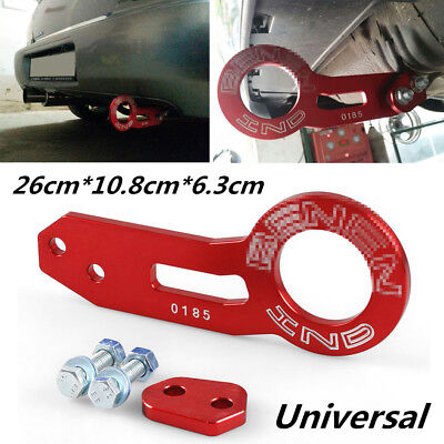 Universal Anodized Car Truck Rear Tow Hook Ring CNC Aluminum Alloy Car Tool