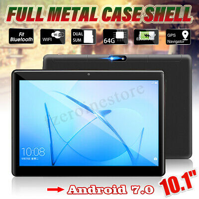 Tablette Tactile 10.1'' Android 7.0 Octa 8 Core Bluetooth WIFI 4G + 64GO 2 SIM