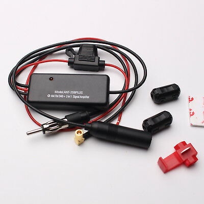 ANT-208 Car Auto Radio Antenna Aerial AM & FM Signal 88-108MHz Amplifier Booster