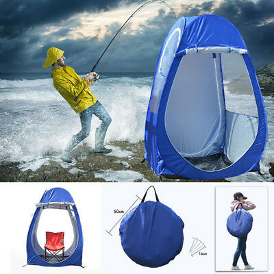 Single Pop-up Tent Pod For Fishing Watching Sports Camping Weather Resistant