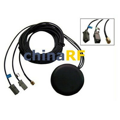 GPS+GSM+WIFI Combined Antenna Magnetic Base with GT5 + GT5 + RP-SMA Connector