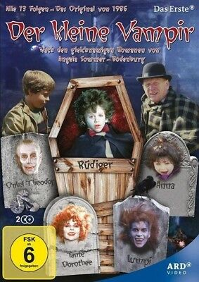 Der kleine Vampir Staffel 1 Richard Nielsen DVD Deutsch 1986